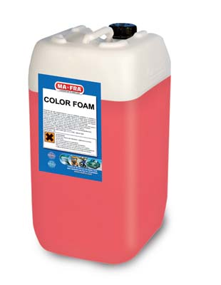 Color Foam Red